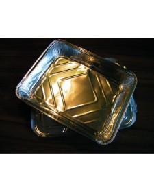 Alu Schale mit Deckel 5 Stück